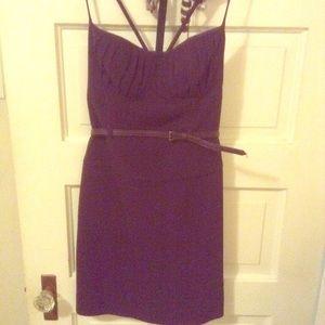 Black Halo Sz 4 purple Dress